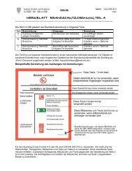 merkblatt brandschutzordnung teil a - Landkreis Eichsfeld