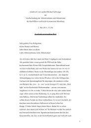 Verabschiedung der Abiturientinnen und Abiturienten des Karl-Ritter ...