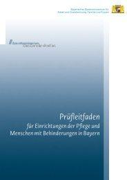 Prüfleitfaden 6.0 - Bayerisches Staatsministerium für Arbeit und ...