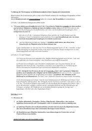 Verhütung der Übertragung von Infektionskrankheiten beim ...