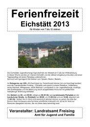 Eichstätt 2013 - Landratsamt Freising