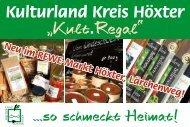 "Kulturland Kreis Höxter ""Kult.Regal"""