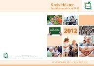 Verwaltungsgliederung - Kreis Höxter