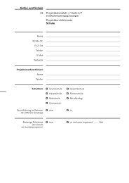 Projektdatenblatt // Seite 1/7 ... - Kultur und Schule