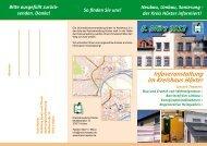 Flyer/Einladung Wohnbauförderung - Kreis Höxter