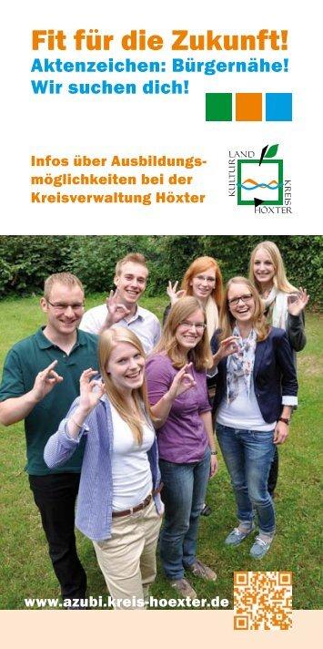 Broschüre als PDF öffnen - Kreis Höxter
