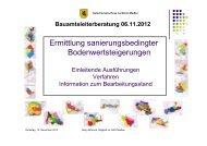 Bereich Gutachteraussschuss - Herr Bönisch ... - Landkreis Meißen