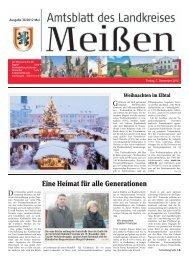 Eine Heimat für alle Generationen - Landkreis Meißen