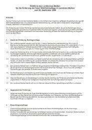 Richtlinie Förderung Wohlfahrtspflege0111 ... - Landkreis Meißen