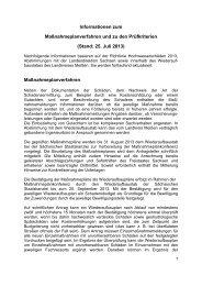Informationen Stand 25. Juli 2013 - Landkreis Meißen
