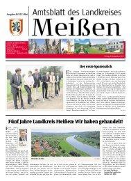 Fünf Jahre Landkreis Meißen: Wir haben gehandelt!