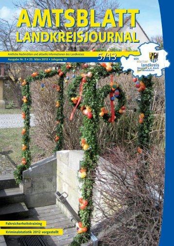 05/2013 - Landkreis Neustadt ad Aisch - Bad Windsheim