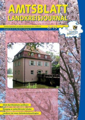 08/2013 - Landkreis Neustadt ad Aisch - Bad Windsheim