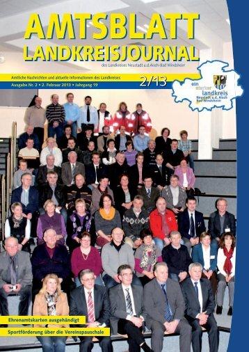 02/2013 - Landkreis Neustadt ad Aisch - Bad Windsheim