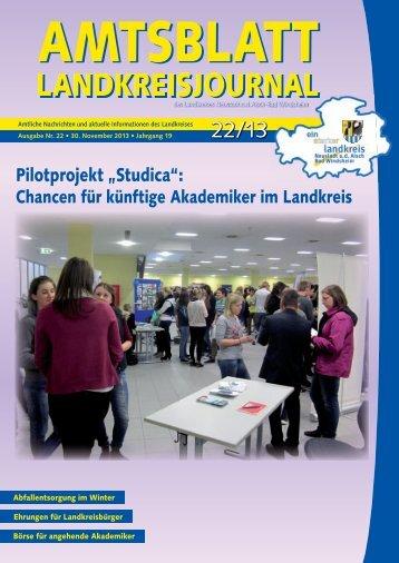 """Pilotprojekt """"Studica"""": - Bad Windsheim"""
