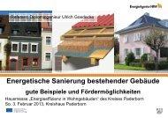 Gute Beispiele und Fördermöglichkeiten - Ulrich ... - Kreis Paderborn