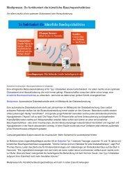 Medipresse: So funktioniert die künstliche Bauchspeicheldrüse