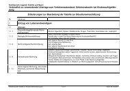 Erläuterung der Tabelle zur Situationseinschätzung - Kreis Paderborn