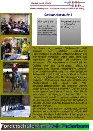 Schule Haus Widey - Kreis Paderborn