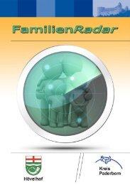 Betreuungsangebote für Familien mit behinderten ... - Kreis Paderborn