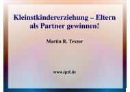 Kleinstkindererziehung - Eltern als Partner ... - Kreis Paderborn