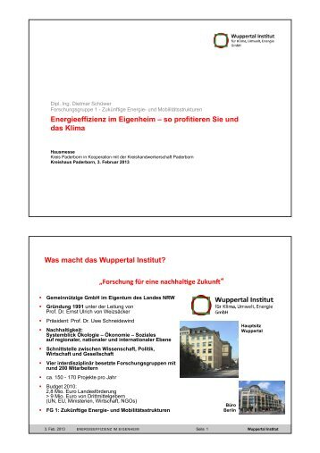 Energieeffizienz im Eigenheim-Paderborn-DSch ... - Kreis Paderborn
