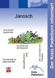 Themenbroschuere Janosch - Kreis Paderborn