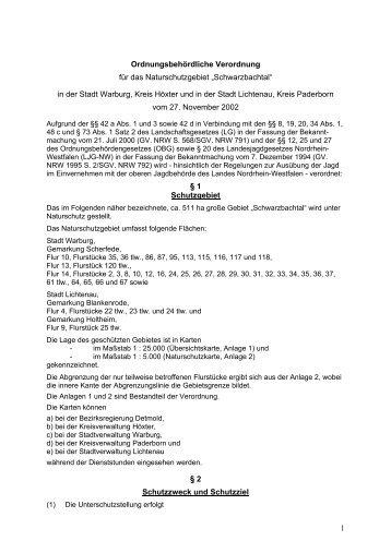 Bezirksregierung Detmold - Kreis Paderborn