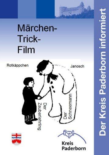 Themenbroschuere Märchen und Trickfilme - Kreis Paderborn
