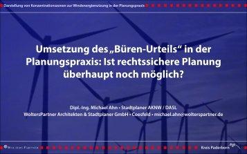 Dipl.-Ing. Michael Ahn • Stadtplaner AKNW / DASL - Kreis Paderborn