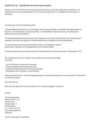 ApoPolice.de - Apothekenversicherung komplett
