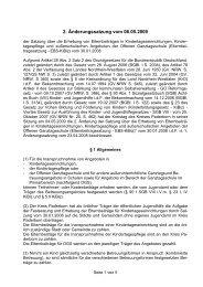2. Änderung der Elternbeitragssatzung vom 06.05 ... - Kreis Paderborn
