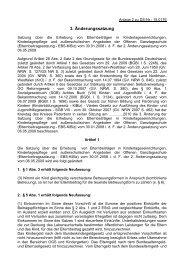 3. Änderung der Elternbeitragssatzung vom 30.06 ... - Kreis Paderborn