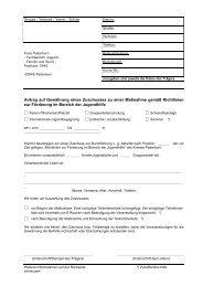 Antrag auf Gewährung eines Zuschusses zu einer ... - Kreis Paderborn