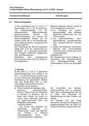 Kreis Paderborn Landschaftsplan Büren-Wünnenberg vom 21.12 ...