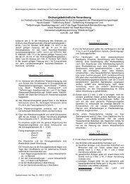 Ordnungsbehördliche Verordnung - Kreis Paderborn