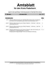 amtsblatt 01 vom 08012014a - Kreis Paderborn