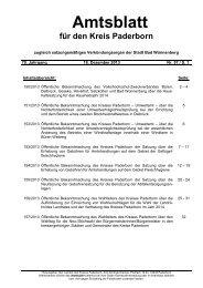Amtsblatt Nr. 57 vom 18.12.2013 - Kreis Paderborn