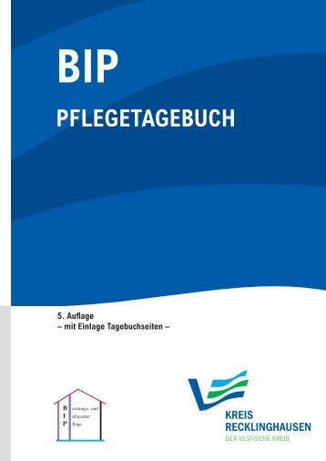 PFLEGETAGEBUCH - Kreis Recklinghausen