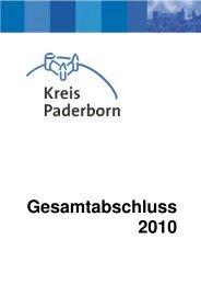 Gesamtabschluss 2010 - Kreis Paderborn
