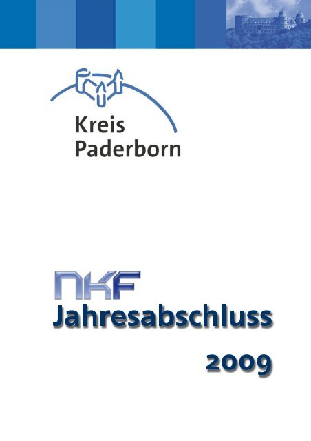deckblatt nkf jahresabschluss 2009.psd - Kreis Paderborn