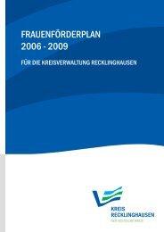Frauenförderplans - Kreis Recklinghausen