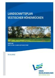 Satzungstext - Kreis Recklinghausen