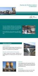 Neubau der Straßenmeisterei in Ibbenbüren - Kreis Steinfurt