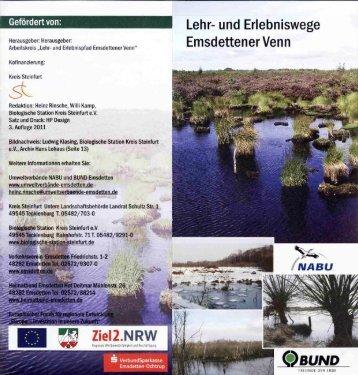 Lehr- und Erlebniswege - Kreis Steinfurt