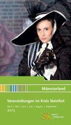 Veranstaltungskalender 2013 - Kreis Steinfurt