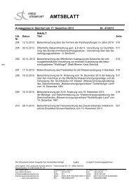 Amtsblatt 47 (PDF; 570 KB) - Kreis Steinfurt
