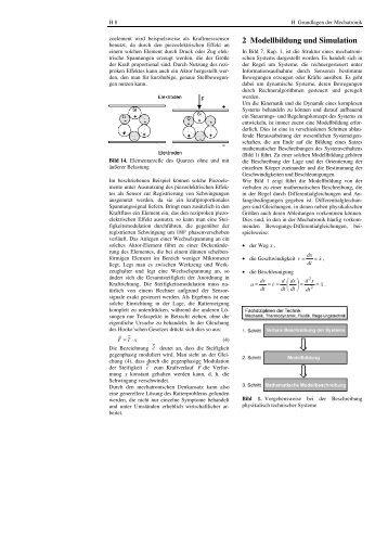 2 Modellbildung und Simulation