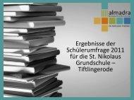 St. Nikolaus Grundschule Tiftlingerode - Kreiselternrat-Goettingen.de