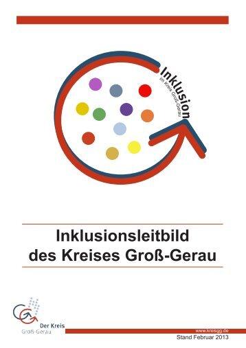 Inklusionsleitbild des Kreises Groß-Gerau hier ... - Kreis Groß-Gerau